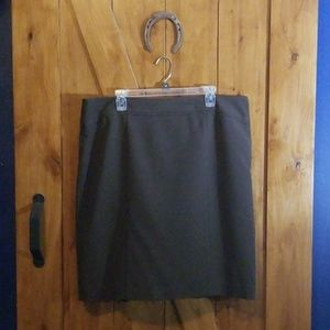 Size 18 Professional Brown lined skirt